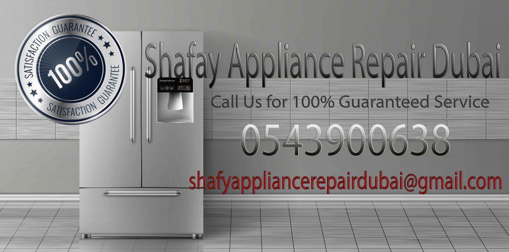 Shafay appliance repair dubai All Brands repairing service in dubai